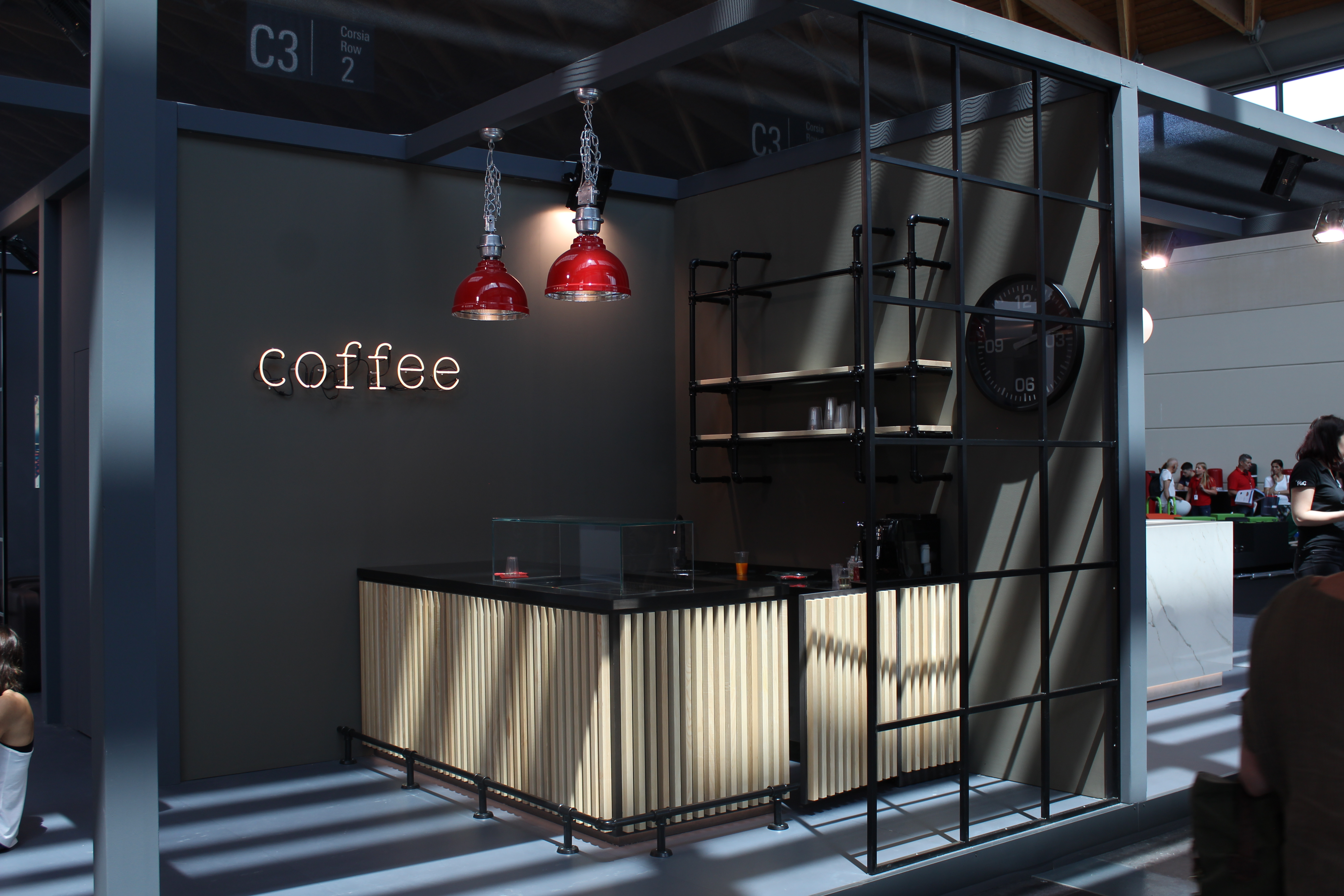 Exhibition Stand Coffee : Exhibition stand u dm srl italia